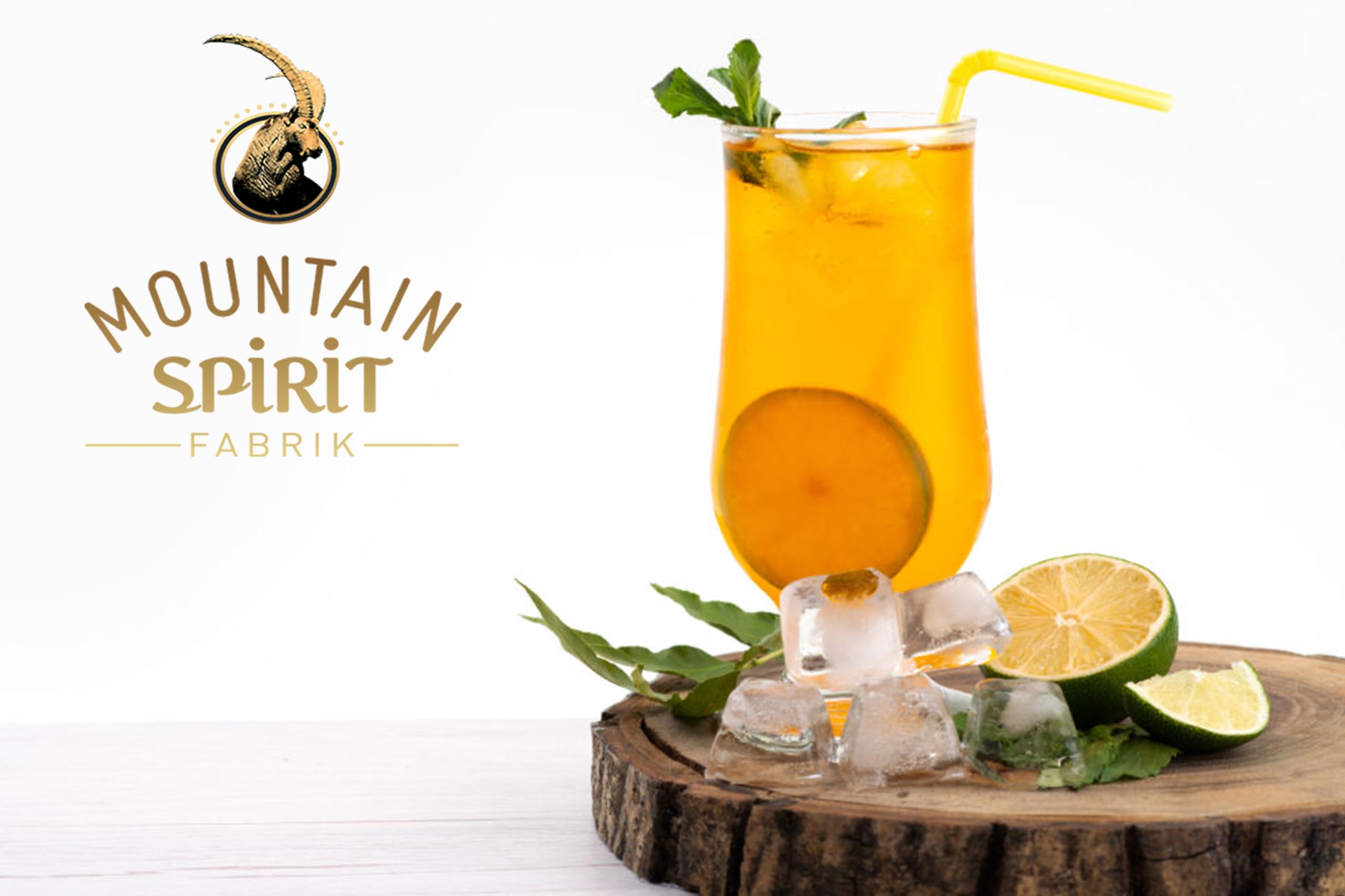 cocktail-dame-yvonne mountain spirit Fabrik