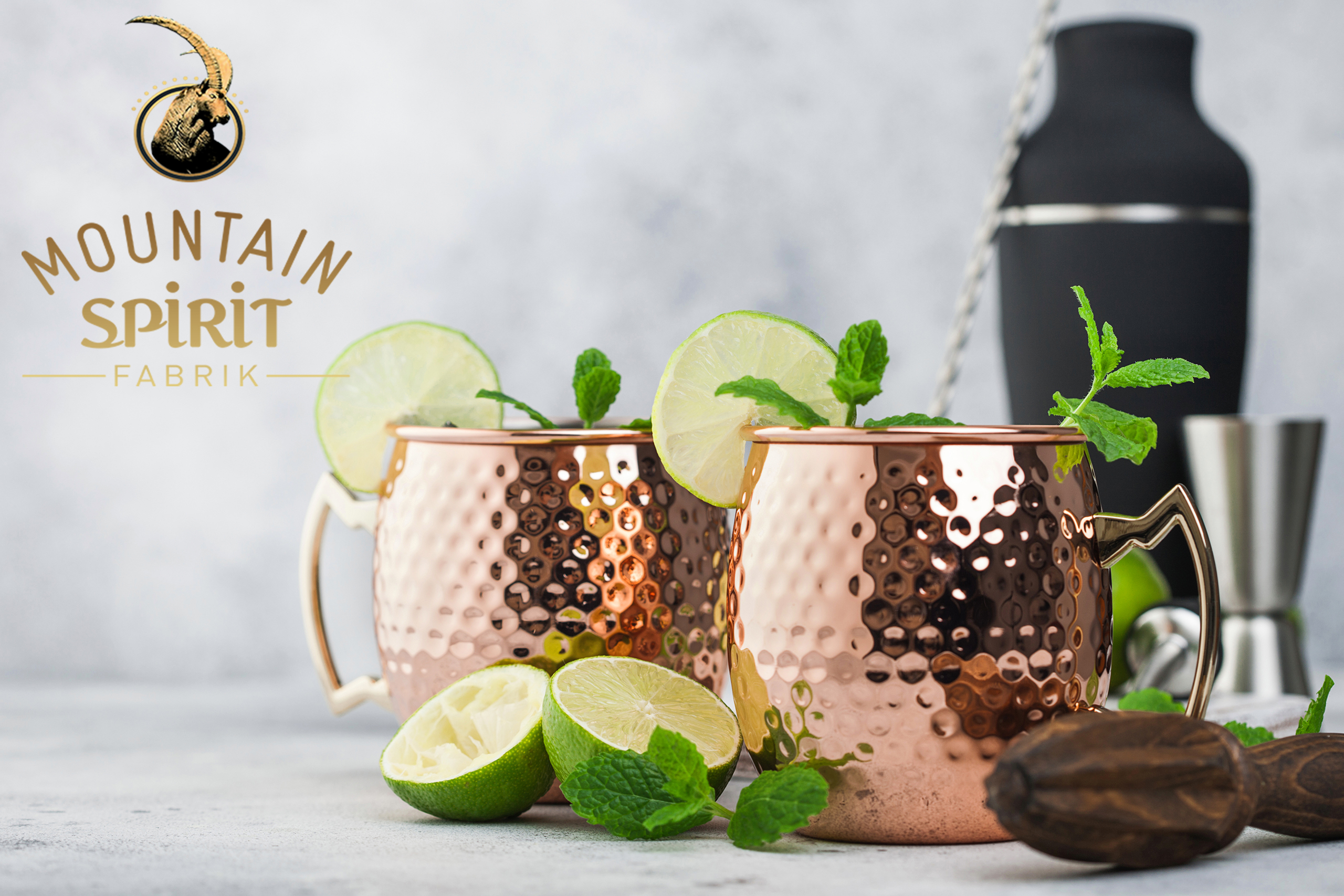 cocktail genepi mule de mountain spirit fabrik
