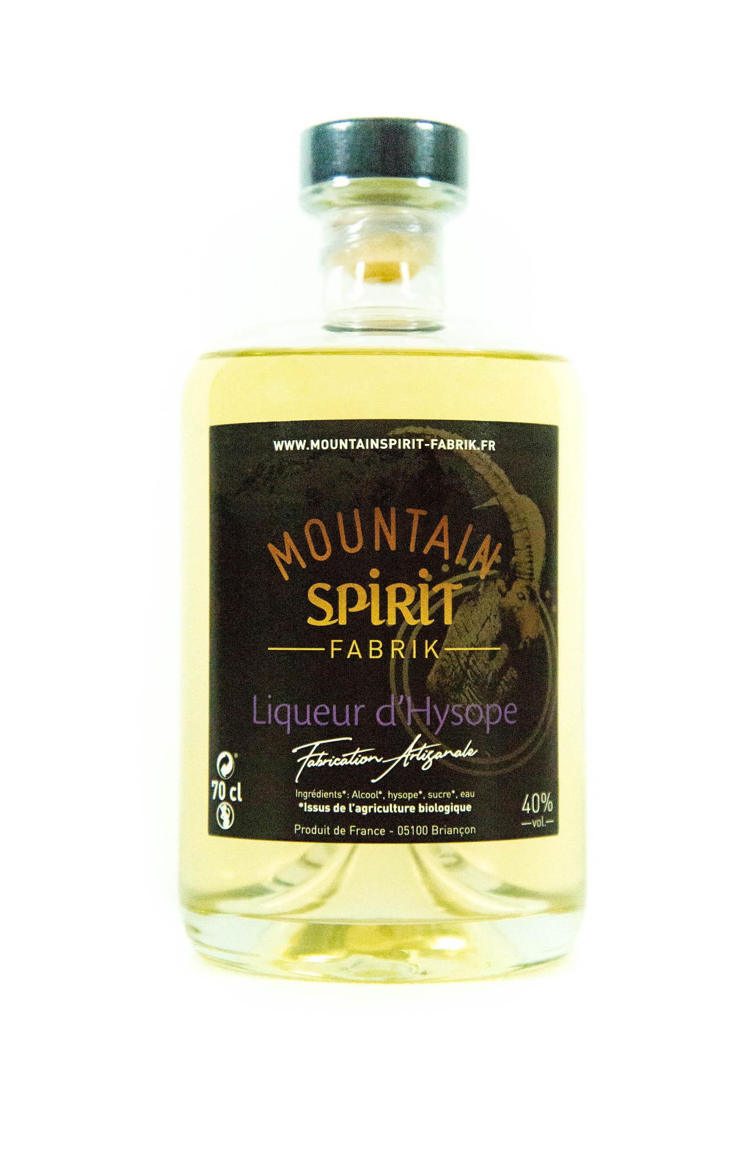 Liqueurs-hysope-70cl-Mountain-Spirit-Fabrik